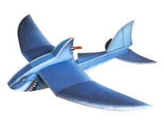 Free shipping EPP Airplane TrainingPlane Modle RC Shark 1420mm wingspan